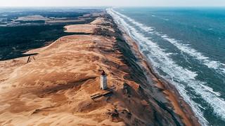 Denmark's golden coast.