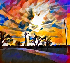 untitled (larrynunziato) Tags: digitalabstract abstractlandscape abstractpainting landscapepainting mixedmedia