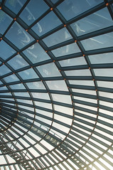 Perlan Roof (2) (Peter Rea 13) Tags: perlan reykjavik iceland exhibition roof dome sky glass abstract experimental steel girders architecture art artistsontumblr biutifulpics city design imiging lensblr lightisphotography d300s nikon originalphotographers originalphotography photographersontumblr peterreaphotography photography pws p58 submission telescopical xonicamagazine ycphotographs colourful