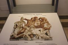 Pyrgi Temple A reliefs - Rome Spring 2018 National Etruscan Museum at the Villa Julia. (Kevin J. Norman) Tags: italy rome etruscan villa julia giulia etrusca juliusiii pyrgi temple cerveteri