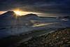 (Jolynn's Photography) Tags: wintermeltt landscape nature sunset snow sunrays shoreline lakeontario