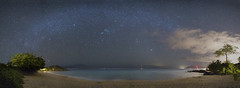 Starry Nights (Peter Stahl Photography) Tags: kihei hawaii unitedstates us makenalanding maui milkyway stars beach waves westmaui orionbelt