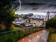 schlechtes Wetter (krieger_horst) Tags: jersey hafen regen kanalinseln mont orgueil castle
