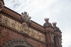 Arc de Triomf (carolinacguerreiro) Tags: barcelona spain sagradafamilia parcguell montserrat bunkersdelcarmel arcdetriomf sunset amsterdam thenetherlands canals hiking rijksmuseum vangoghmuseum heinekenexperience canalcruise museum