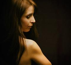 ANIKO 02 (mister evans) Tags: beautiful stunning moody low key nude longhair contemplation expressive nikon sb900 d800 portrait