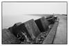 Pier IJmuiden (Kruijssen) Tags: fujifilmx30 ijmuiden pier zwart wit bw zee