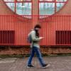 Red lines ( blur walkers ) (Jean-Marc Vernier) Tags: rotrossorougerood blur flou walk streetview streetwalk streetphotography streetphotographer street urban city fujifilm fujixt20