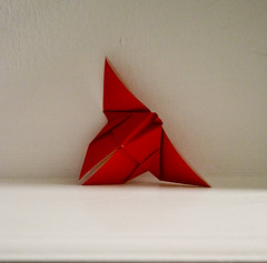 Butterfly (sarahcoggrave) Tags: butterfly origami paperfolding