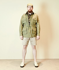 _MG_4644 (GVG STORE) Tags: outstanding coordination menswear americancasual amecage workwear workshirts gvg gvgstore gvgshop militarylook military fatigue