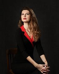 DSC_9703 (Roman LcL) Tags: portrait studiolight elena homestudio nikon d800 nikond800 red black 85mm sb800 strobism nikoncls cls