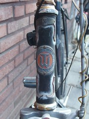Torpedo-Werke (mkorsakov) Tags: münster city innenstadt fahrrad bike bicycle headbadge torpedowerke retro vintage typo logo wappen rost rust