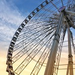 Paris France - The Roue de Paris - Ferris Wheel - Gondolas thumbnail