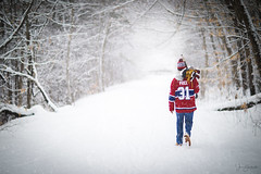 """For the Love of the Game (capers66) Tags: """"pondhockey"""" snowy """"snowstorm"""" storm hockey nh snow montrealcanadians portrait canon5dmarkiv 85mm snowday heavysnow careyprice winter march newengland newhampshire kid youth fan montrealcanadiens teenager"""