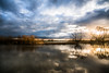 reflection river (bjdewagenaar) Tags: photography photograph photographer sony sonyalpha sonyphotographer sonyimages sonya77ii sonya landscape landscapephotography waterscape sky clouds reflection sunset nature trees colors lightroom raw gorinchem gorcum dutch holland sigma wideangle ultrawideangle