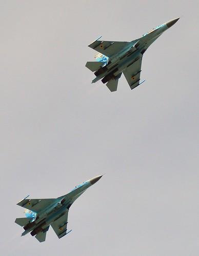 Sukhoi SU27 Flanker Pair