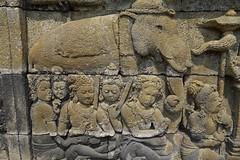 "INDONESIEN,Java, Borobudur - buddhistische Tempelanlage, Relief, 17238/9744 (roba66) Tags: reisen urlaub visit roba66 asien südostasien asia eartasia ""southeastasia"" indonesien indonesia ""republikindonesien"" ""republicofindonesia"" indonesiearchipelago inselstaat java travel explorevoyages borobodur barabudur tempelanlage tempel temple yogyakarta ""mahayanabuddhismus""""buddhisttemple"" buddharelief statue bauwerk building architektur architecture arquitetura urban kulturdenkmal monument fassade façadeplatz places historie history historic historical geschichte"