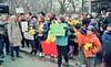 Rally for safe streets (triebensee) Tags: nikon f2 nikkor ais 28mm f28 kodakektar100 tetenal selfdeveloped c41 film epsonv700 familiesforsafestreets brooklyn park slope