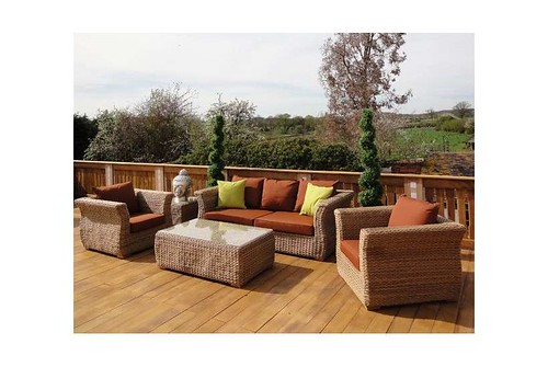 Montana 3 seater sofa suite - outdoor