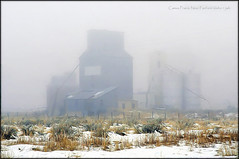 Camas Prairie Near Fairfield Idaho (jerrywb2010) Tags: idaho fog cold snow abandoned building timewornbuilding weathered
