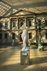 Center of Everything (dayman1776) Tags: sculpture statue marble neoclassical classical nude myth sunset nyc new york city metropolitan museum art sony a6000 american