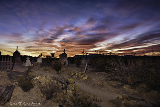 Sunrise in Terlingua Cemetary