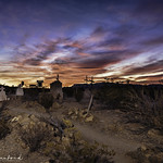 Sunrise in Terlingua Cemetary thumbnail