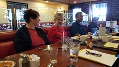 Saturday, March 24, 2018, our meeting took place at Mimi's Cafe in Mesa, AZ. (Rise and Shine Toastmasters) Tags: toastmasters leadership publicspeaking confidence mesa arizona saturday fun excitement training friendship networking