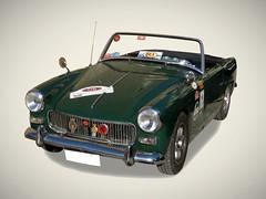 MG MIDGET MK1 (1961-1962) (fernanchel) Tags: vehiculo ciudades coche car torrent gimp mg morrisgarages classic clasico torrente