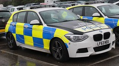 LF63 NDX (Ben Hopson) Tags: uk united kingdom gb great britain england greater manchester police 999 112 101 emergency service services vehicle vehicles battenburg led lightbar anpr automatic number plate recognition interceptor interceptors bmw 125d msport edition 1 series 2013 lf63 lf63ndx