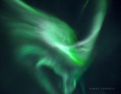 Borealis Ionization! (Ramiro Torrents) Tags: auroraborealis northernlights norway nightphotography night nightscape sony a7r illuminated longexposure sky darksky green