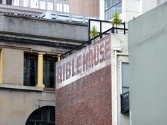 bible house (75kombi) Tags: ghostsign ghostsignmelbourne
