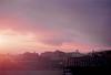 A Place I'm Going To Miss (thomas_anthony__) Tags: girona spain lensflare lens flare sky horizon skyline rooftops travel adventure explore sunset sun light film 35mm analog