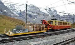 Kleine Scheidegg 05.10.2009 (The STB) Tags: jungfrau jungfraubahnen jungfraurailway rackrailway rackandpinion zahnradbahn schmalspurbahn schweizereisenbahnen schweizerbahnen narrowgauge eisenbahn swissrailways switzerland dieschweiz cograilway