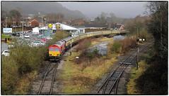 Heading to Onllwyn (Welsh Gold) Tags: 66150 66230 1z19 uk railtiurs london paddington onllwyn excursion neath brecon junction southwales