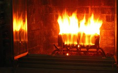 cozy (muffett68 ☺ heidi ☺) Tags: fireplace log duraflame