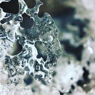 Icy road edges. 64/365