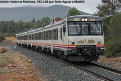 Rain (Adrián Valencia Martínez) Tags: renfe siete aguas 592 camello adif automotor diesel tren lluvia naturaleza explore paisaje