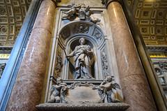 Grabstein der Mathilde von Tuszien (Markus Wollny) Tags: city vatikan rom cittàdelvaticano vatikanstadt it