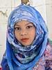 Bangladesh-Dacca-Kamalapur railway station - little beauty (Damir-D) Tags: hijab veil girl smile