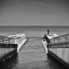 Cold, Hard Winter Fishing (Japhile) Tags: cold winter fishing ocean ozean meer angel angeln kalt blackwhite bnw black noiretblanc ostsee heiligendamm balticsea