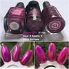 Comparação: If You Dare X Roseta X Bikini Bottoms (Francinie Helvadjian) Tags: esmaltesdakelly roseta ifyoudare bikinibottoms ilnp holographic magenta rosa colorsbyllarowe