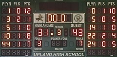 D208560P (RobHelfman) Tags: crenshaw sports basketball highschool losangeles upland playoff state division2 scoreboard
