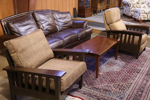 Ethan Allen Leather Sofa ($672.00)