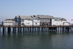 Santa Barbara (davidjamesbindon) Tags: town america states united usa california barbara santa pier jetty building dock