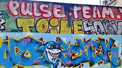 416 Paris en Février 2018 - rue de la Chine (paspog) Tags: paris france février februar february ruedelachine tags graffitis fresque fresques mural murals