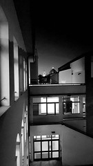 b//w (andrea.violaneves) Tags: blackandwhite black white bw biancoenero florence tuscany italy city sunset view lights townscape