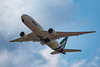 Alitalia B777, take off from Tokyo Narita (kuyu-peach) Tags: 2018 aircraft airplane alitalia b777 dslr narita naritaairport nikon nikond750 skyteam tamronsp150600mmf563divcusd air aviation cloud engine runway sky takeoff travel wing world