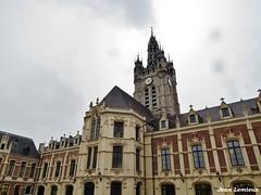Douai - Mairie (JeanLemieux91) Tags: beffroi clock horloge hiver winter invierno febrero février february douai nordpasdecalais nord france europe