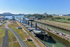 Panama canal (powerfocusfotografie) Tags: panama panamacanal locks miraflores ocean pacific pacificocean water canal travelling ship level shortcut summer beautifulweather henk nikond7200 powerfocusfotografie