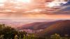 Edge of the Mountain (PixTuner) Tags: pixtuner berge gebirge harz sunshine sunrise sunset sunbeams
